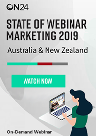State of Webinar Marketing 2019