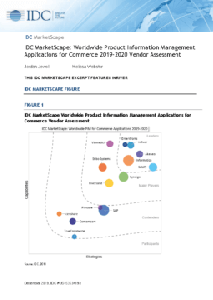 IDC MarketScape: Worldwide Product Information Management Applications for Commerce