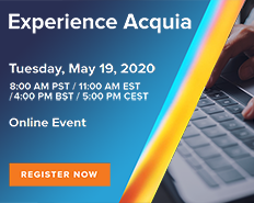 Online Event: Experience Acquia