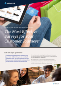 The Most Effective Surveys for Your Customer Journeys'