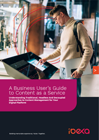 A Business User's Guide to Content as a Service (CaaS)