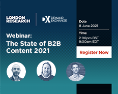 Webinar: The State of B2B Content 2021
