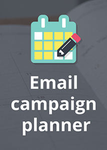 Email Campaign Planner - Q4 2017