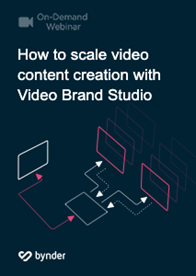 How to scale video content creation with Video Brand Studio