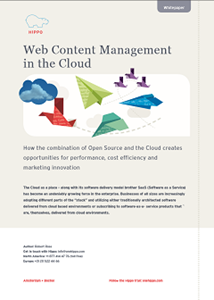 Web Content Management  In The Cloud