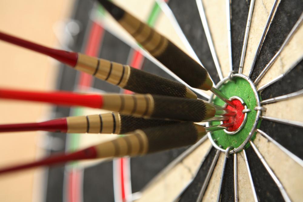 Hitting the bullseye